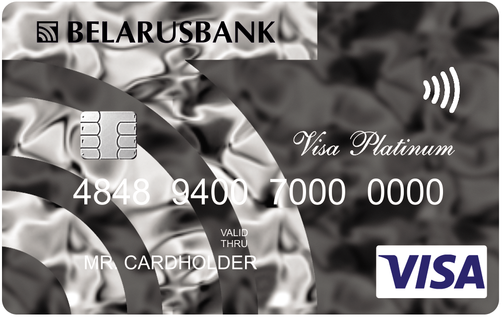 картка Visa Platinum