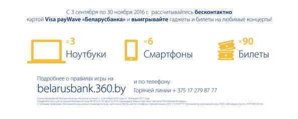 призы от Беларусбанка