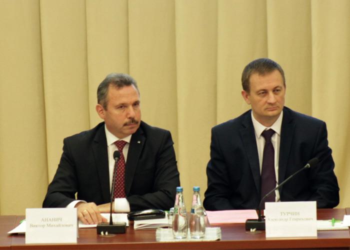 Александр Турчин на годовом собрании акционеров Беларусбанка