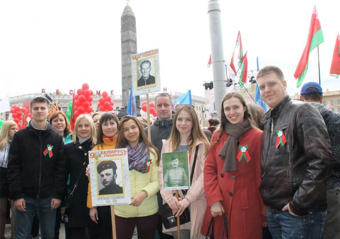 парад на площади Победы