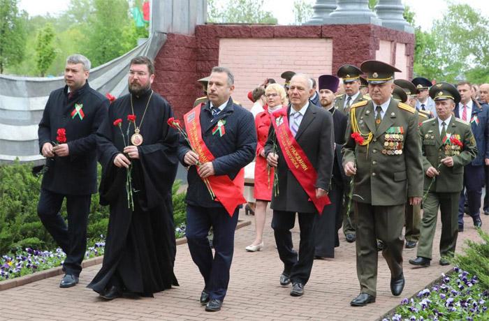 Виктор Ананич в День Победы