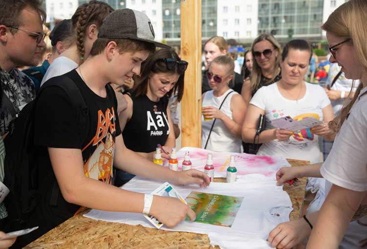 фестиваль в Витебске для молодежи